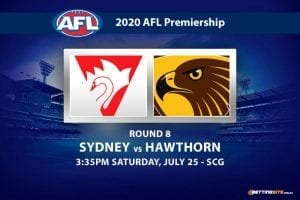 Swans vs Hawks AFL betting tips