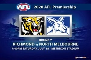Tigers vs Kangaroos AFL betting tips