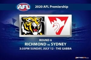 Tigers vs Swans AFL betting tips