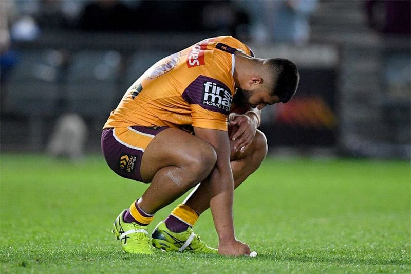 Brisbane Broncos distraught after NZ Warriors loss