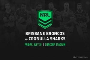 Broncos vs Sharks NRL betting tips