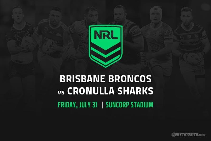 Broncos vs Sharks NRL betting tips