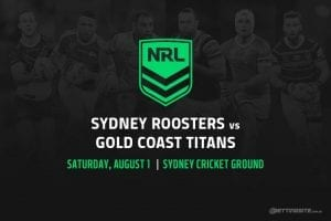 Sydney Roosters vs Gold Coast Titans
