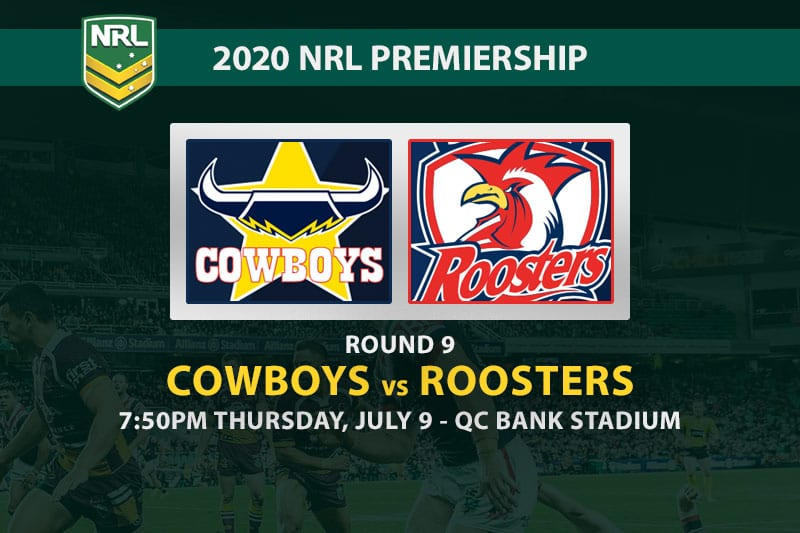 North Queensland Cowboys vs Sydney Roosters