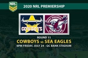 North Queensland Cowboys vs Manly Sea Eagles