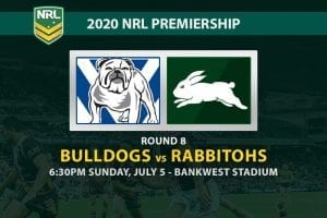 Canterbury Bulldogs vs South Sydney Rabbitohs