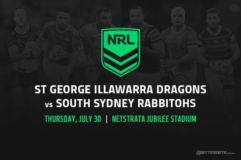 St George Illawarra Dragons vs South Sydney Rabbitohs