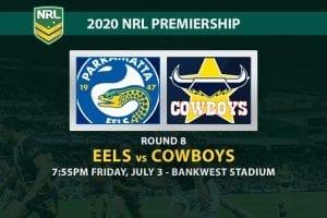 Parramatta Eels vs North Queensland Cowboys