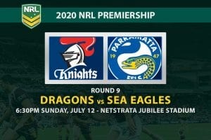 St George Illawarra Dragons vs Manly Sea Eagles