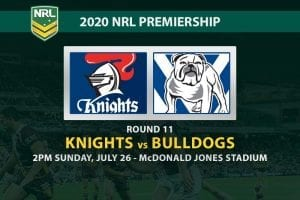 Knights vs Bulldogs NRL betting tips