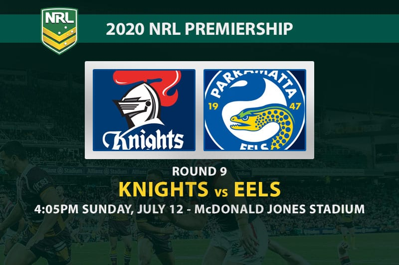 Knights vs Eels NRL betting tips