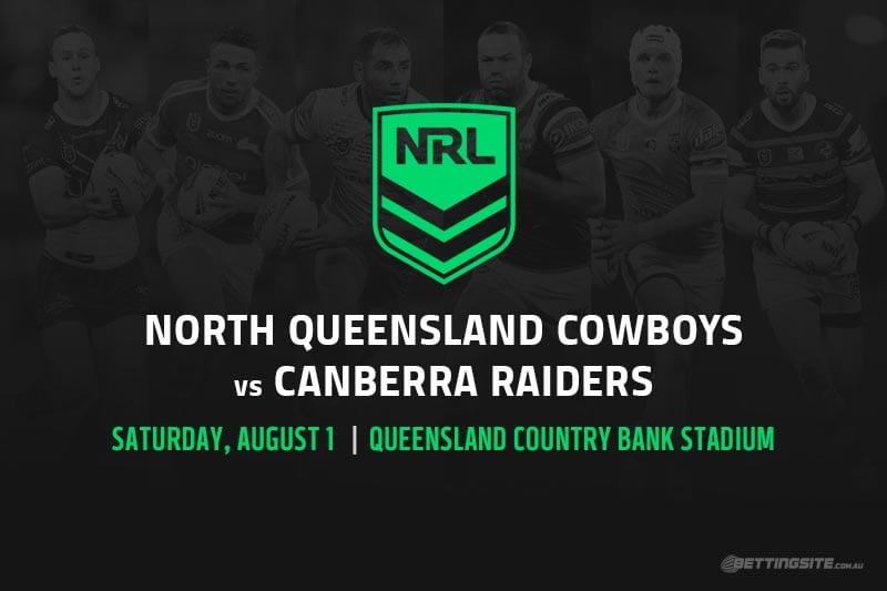 North Queensland Cowboys vs Canberra Raiders
