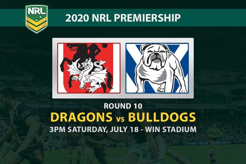 St George Illawarra Dragons vs Canterbury Bulldogs