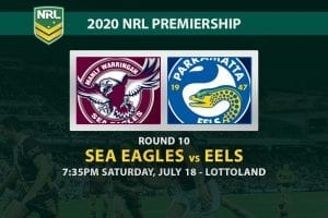 Manly Sea Eagles vs Parramatta Eels