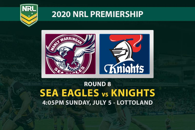 Sea Eagles vs Knights NRL betting tips
