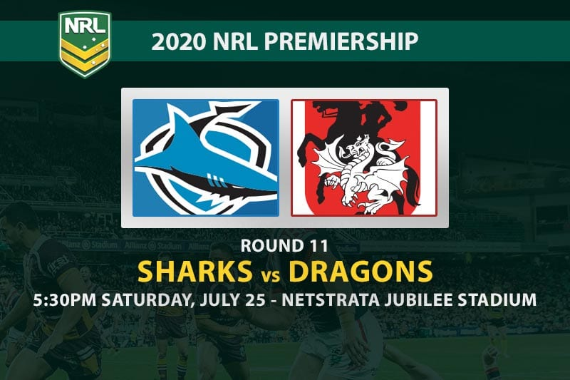 Cronulla Sharks vs St George Illawarra Dragons