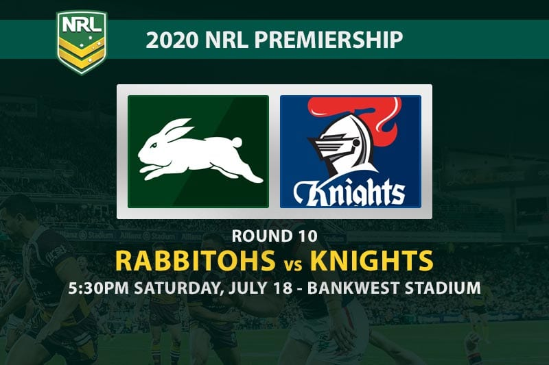 South Sydney Rabbitohs vs Newcastle Knights