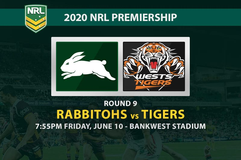 South Sydney Rabbitohs vs Wests Tigers