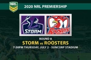 Storm vs Roosters NRL betting tips