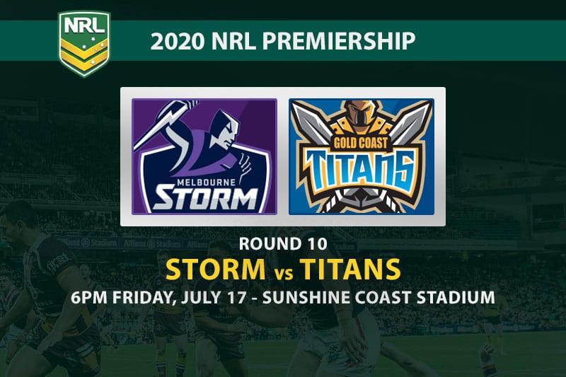 Storm vs Titans NRL betting tips