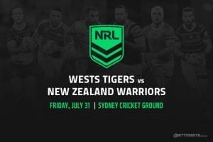 Tigers vs Warriors NRL betting tips