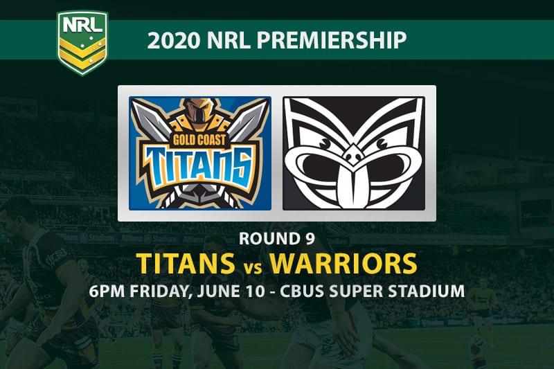 Gold Coast Titans vs New Zealand Warriors