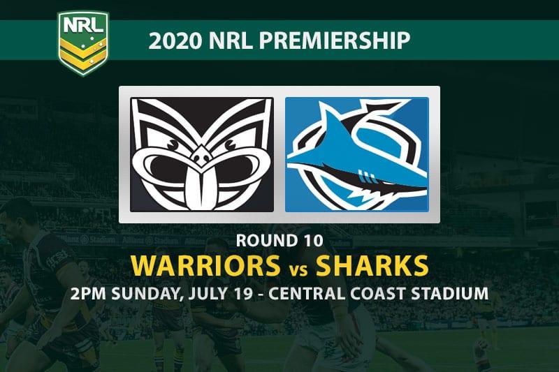 Warriors vs Sharks NRL betting tips