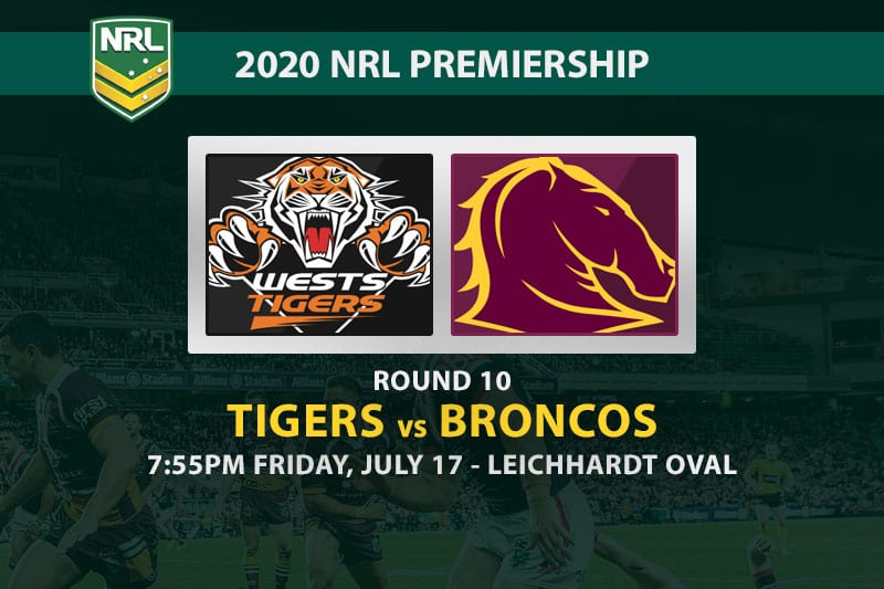 Tigers vs Broncos NRL betting tips