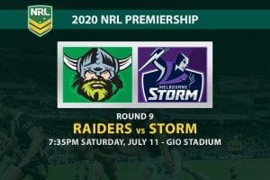 Raiders vs Storm NRL betting tips