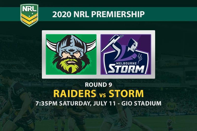Raiders vs Storm NRL betting tips