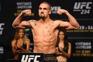 Whittaker UFC betting