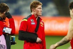 Rowell injury news AFL