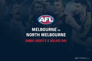 Demons vs Kangaroos AFL betting tips