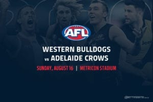 Bulldogs vs Crows AFL betting tips