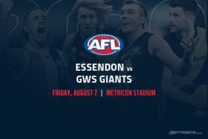 Bombers vs Giants AFL betting tips