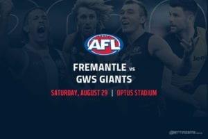 Dockers vs Giants AFL betting tips