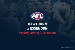 Hawks vs Bombers AFL betting tips