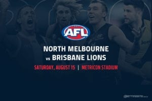 Kangaroos vs Lions AFL betting tips
