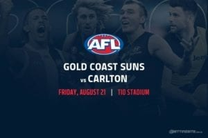 Suns vs Blues AFL betting tips