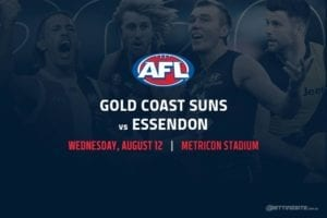 Suns vs Bombers AFL betting tips