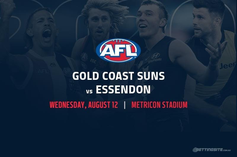 Suns vs Bombers AFL betting tips