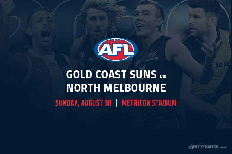 Suns vs Kangaroos AFL betting tips