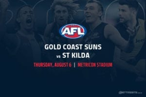 Suns vs Saints AFL betting tips