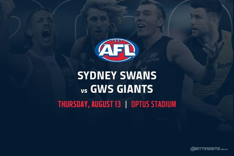 Sydney vs GWS AFL betting tips