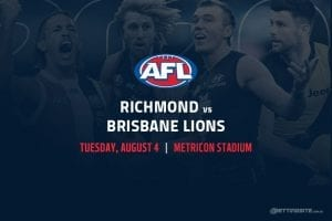 Tigers vs Lions AFL betting tips
