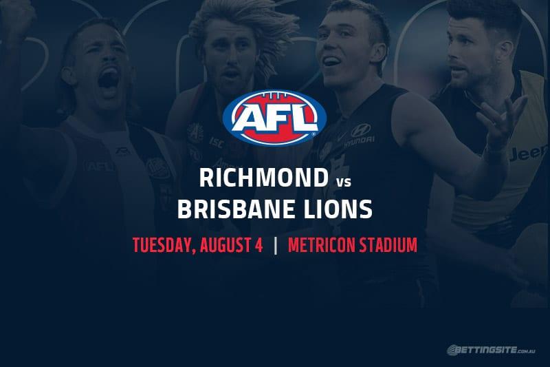 Tigers vs Lions AFL betting tips