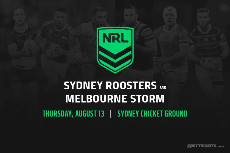 Roosters vs Storm NRL betting tips