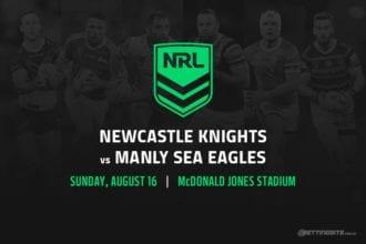 Newcastle Knights vs Manly Sea Eagles