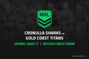 Cronulla Sharks vs Gold Coast Titans