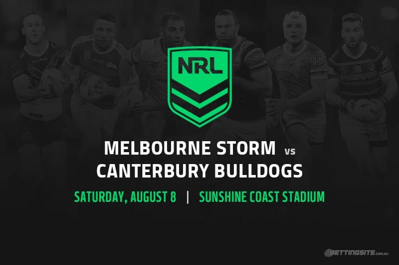 Storm vs Bulldogs NRL betting tips